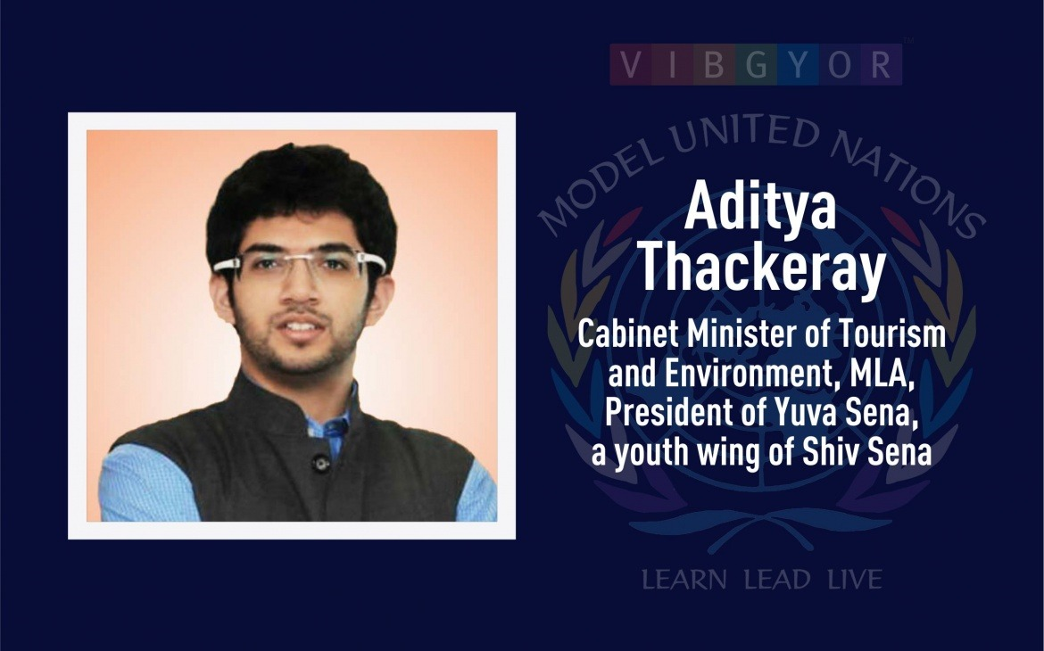 Chief Guest – Opening Ceremony | Aaditya Thackeray: Cabinet Minister of Tourism and Environment, MLA